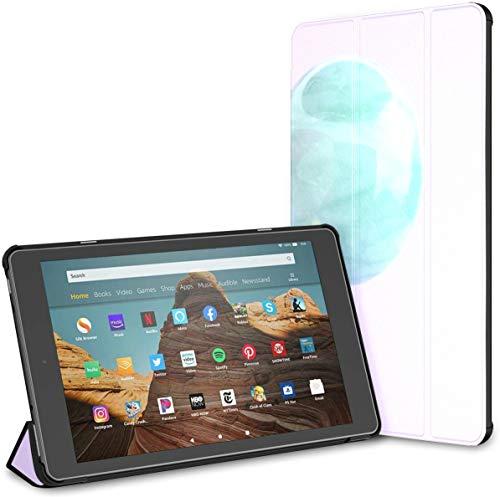 Estuche para Bolas de Cristal en el césped de la Tableta Sunset Fire HD 10 (9.a / 7.a generación, versión 2019/2017) Estuches para Kindle Fire HD 10 Estuches y Fundas para Kindle HD 10 Auto
