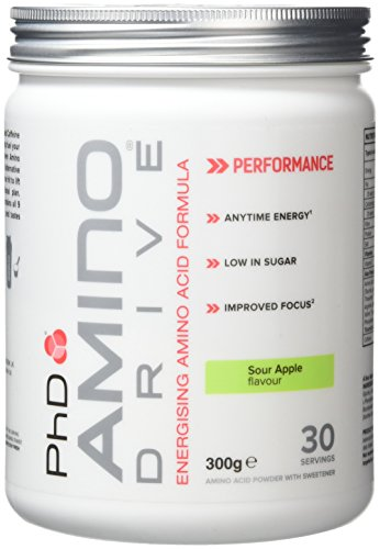 PhD Nutrition Amino Drive Supplement, Sour Apple