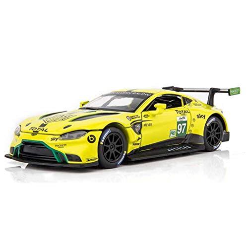 Escala 1:32 Modelo de automóvil de fundición a presión / compatible con el modelo de automóvil de aleación de la simulación de Aston Martin / Simulation con sonido de función de sonido y luz.