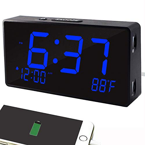 Best alarm clock with temperature on the market