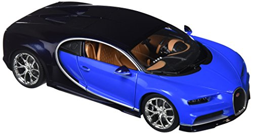 Bburago – Bugatti Chiron Voiture de Jouet, Bleu (18 – 11040b)