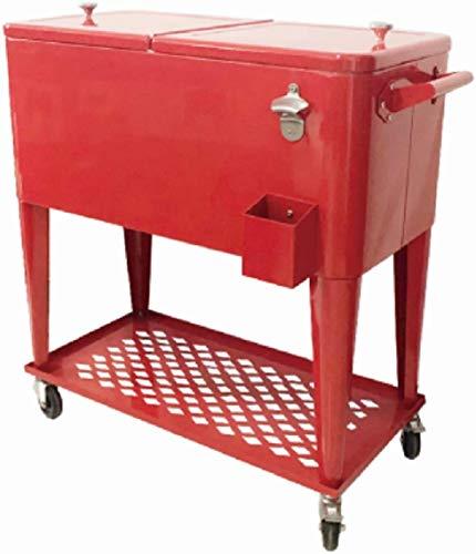 Service Cart Kühlschrank Seitenwagen Getränkewagen Getränke Kühlschrank Getränk Kühlschrank Kühlschrank Eis Creme Cart Party Kühlschrank Side Truck Speisen Auto Aktivität Kühlschrank,Red