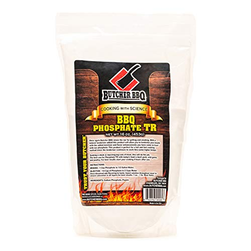 Butcher BBQ Phosphate TR-Tenderize for Hot and Fast Cooking | World Championship Winning Formula | Gluten Free | MSG free