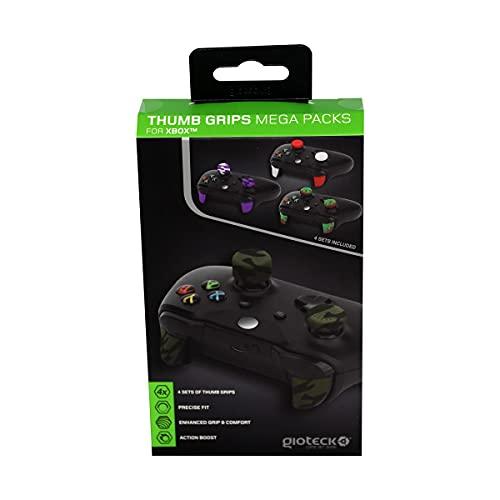 Gioteck - Mega Pack de empuñaduras de pulgar para Xbox One (4 sets)