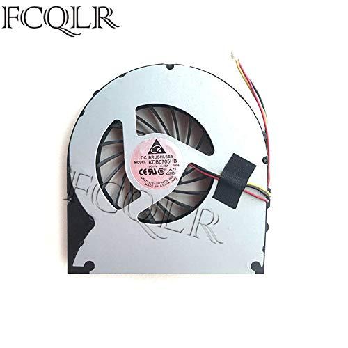 FCQLR Ventilador de la CPU del Ordenador portátil para Acer eMachines G640 G730 G730G G730Z G730ZG KSB06105HA-AA21 CPU enfriamiento Ventilador