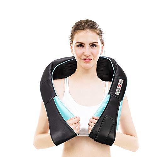 MKLLIJD Form Elektrische Shiatsu Rücken Nacken-Schulter-Körpermassager- Beheizte Kneading