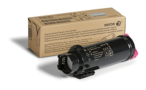 Xerox Phaser 6510/Workcentre 6515 Magenta Standard Capacity Toner Cartridge (1,000 Pages) - 106R03474