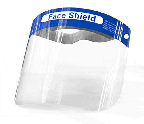 5X Gesichtsschutz-Schirm Visier Spuck-Schutz Face-Shield Schutzschild Gesichtsschirm (5)
