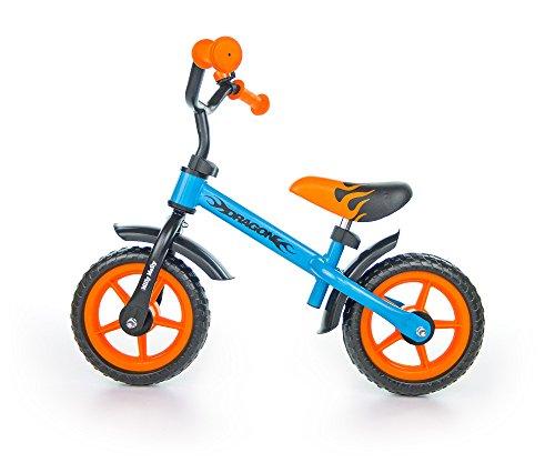 Milly Mally Dragon Infantil Unisex Ciudad Acero Negro, Azul, Naranja...