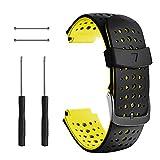 NotoCity Bracelet Forerunner 235, Bracelet de Montre de Rechange en Silicone Sport pour Garmin...