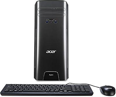 Acer Aspire Desktop, Intel Core i3-6100, 8GB DDR3, 2TB HDD, Windows 10 Home, AT3-710-UR51