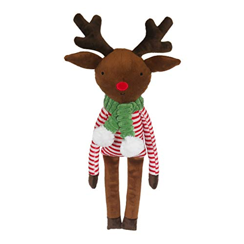 Rosewood Plush Comfort Christmas Rudolph Reindeer Dog Toy, 29 x 33 cm