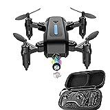 GZTYLQQ Drone con cámara para Adultos 720P, Quadcopter con función de detección de Gravedad y trayectoria de Vuelo, es la Mejor opción para Regalos para niños y niñas