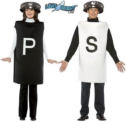 tienda RASTA IMPOSTA Salt & & & Pepper Couples Costume Set Adult Standard  la red entera más baja