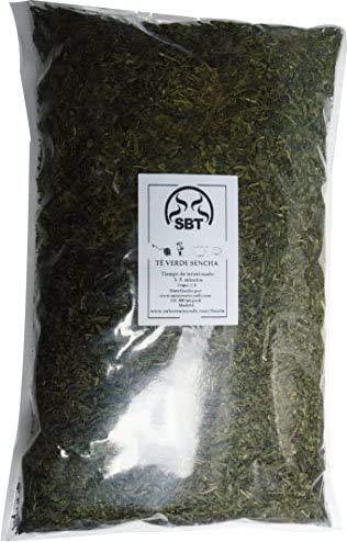 SABOREATE Y CAFE THE FLAVOUR SHOP Te Verde Sencha Japones En Hoja Hebra A Granel Infusion Natural Adelgazante 1 Kg