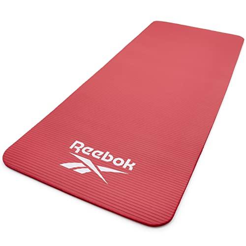 Reebok Training Mat, Tappetino da Allenamento, Unisex Adulto, Rosso, 15 mm