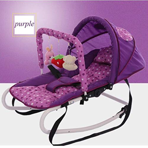Baby schommelstoel - wieg bed, comfortabele schommelstoel, Portable Baby Swing, is de vierde snelheid van het lichaam ingesteld op Dual mode, swing en Still, draagbaar ontwerp, one size
