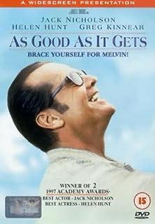 As Good As It Gets [DVD] [1998] (B00004CXL8) | Amazon price tracker / tracking, Amazon price history charts, Amazon price watches, Amazon price drop alerts
