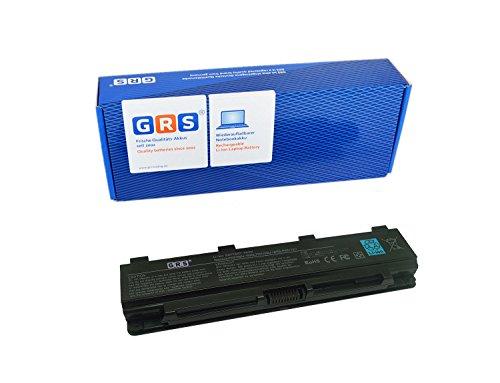 GRS Akku für Toshiba C40, C45, C50, Satelitte C50T, C55DT, C70, C75, ersetzt: PA5108U-1BRS, PA5109U-1BRS, PA5110U-1BRS, PABAS271, PABAS272, PABAS273, Laptop Batterie, 6600mAh 10,8V