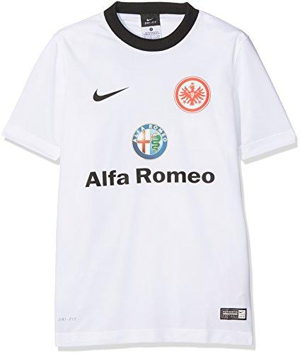 Nike Kinder Eintracht Frankfurt Away Supporters 2014/2015 Trikot, weiß/schwarz, M/137-147 cm
