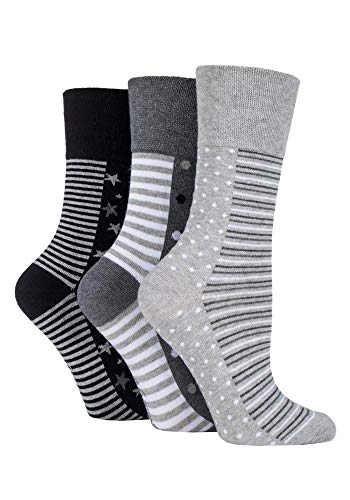 SockShop Damen-Socken, 3 oder 6 Paar, Übergröße Gr. One size, 3 x Damen Rb99 Plus