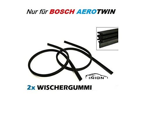 Scheibenwischergummis Ersatzwischergummis Wischergummis Kompatibel mit BOSCH AEROTWIN A311S 3397007311 Scheibenwischer 700/650 inkl. Montageanleitung