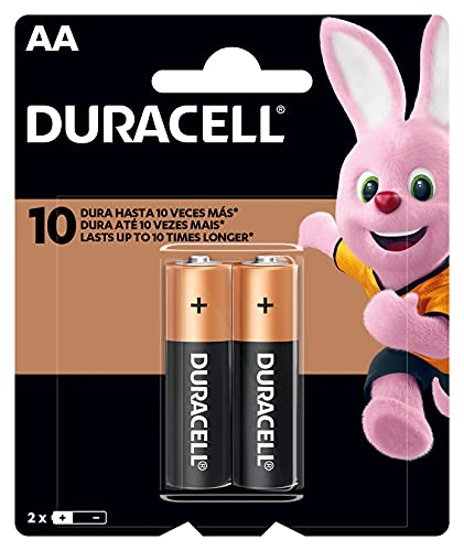 Pilha Alcalina AA, Duracell C/2, Copper And Black