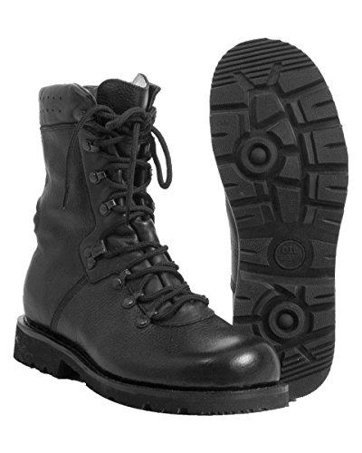 Commando Industries CI BW Bottes d'intervention militaire, bottes de combat type 2000, bottes de plein air, bottes de springer 37-48 - Noir - Noir , 38 EU