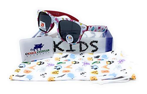 VENICE EYEWEAR OCCHIALI Gafas de sol Polarizadas para niña - protección 100% UV400 - Disponible en varios colores (Fantasy)