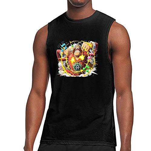 Vdaras Camiseta para hombre sin mangas Apoo O-N-E-Piece