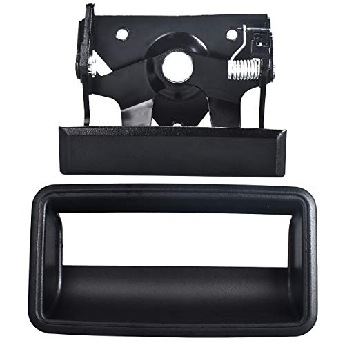 FAERSI Rear Tailgate Handle Latch and Bezel Set Replacement for 1988-2002 Gmc...