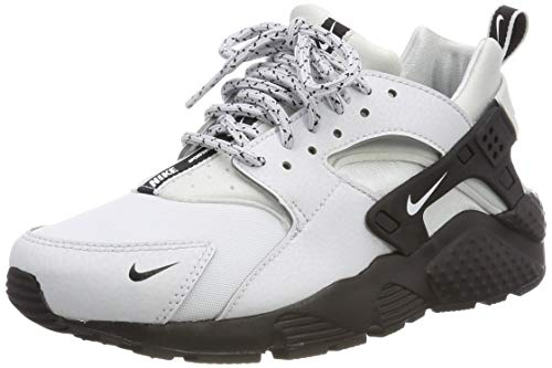 Nike Huarache Run Se (GS), Chaussures de Gymnastique garçon, Or (Pure Platinum/White/Black 007), 35.5 EU