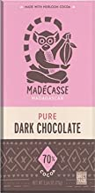 Madecasse 70% Cocoa Chocolate Bar Rich & Fruity -- 2.64 oz - 3 pack