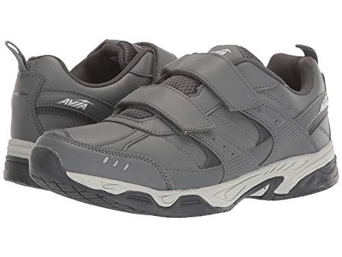 Avia Men's Avi-Union II Strap Sneaker, Steel Gray/Asphalt/Nimbus Cloud/Silver