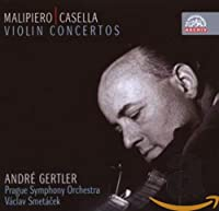 マリピエロ:ヴァイオリン協奏曲(1932) 他 [Import] (CONCERTO FOR VIOLIN & ORCHESTRA)