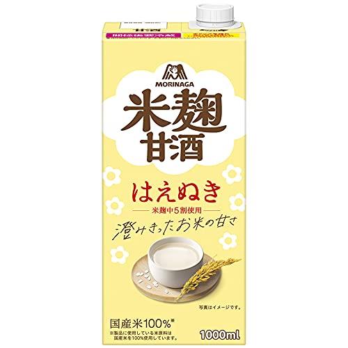 森永のやさしい米麹甘酒 1000ml×6本