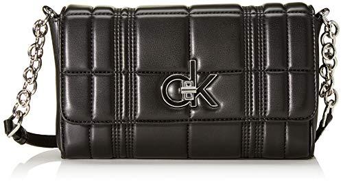 Calvin Klein Re-lock Flap Xbody Q - Bolsos bandolera Mujer