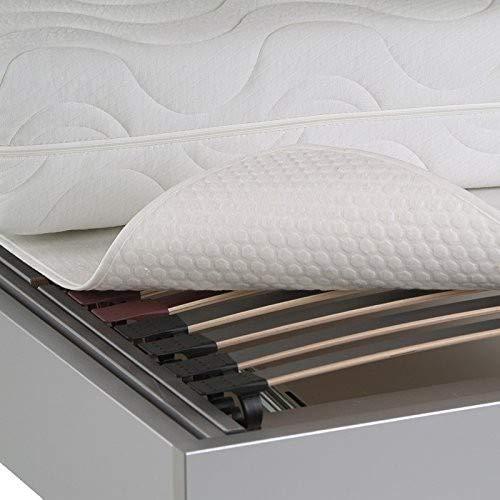 BNP Opti-Star Schonmatte für Lattenrost mit Relief-Oberfläche 100 x 200 cm weiß