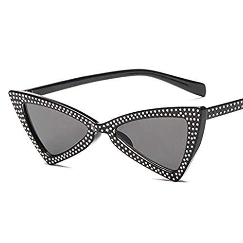 LETAM Occhiali da sole Occhiali da Sole con Diamanti Brillanti a Farfalla Donna Uomo Occhiali da Sole Vintage Brillantini Occhiali da Vista Femminili Oculos