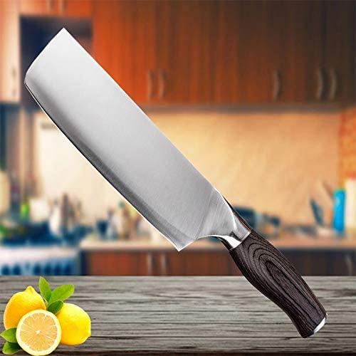 Meat Cleaver Knife Stainless Steel Kitchen Nippon regular agency price Chine