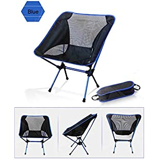 Chair Portable Lightweight Folding Hiking Camping Stool Seat Fishing Picnic Barbecue Beach Sunbath Party Bag