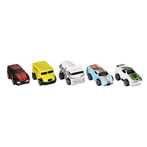 Nitro Micros 5 Pack - Series 2 - specific cars vary