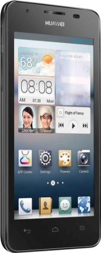 Huawei Ascend G510 Smartphone (11,4 cm (4,5 Zoll) Touchscreen, 5 Megapixel Kamera, 4 GB Interner Speicher, Android 4.1) schwarz