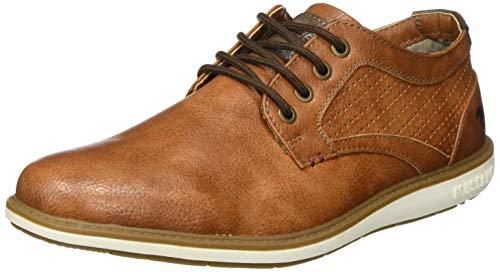 MUSTANG Herren 4111-302 Sneaker, Braun (Cognac 307), 43 EU