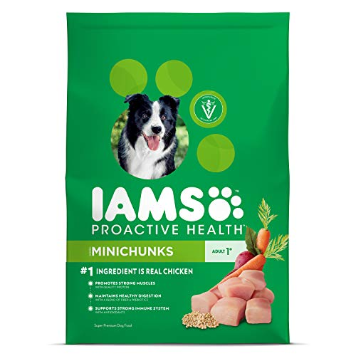 Iams Proactive Health Adult Minichunks Dry Dog Food Chicken, 30 Lb....