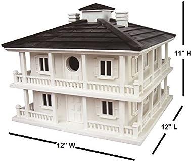 Home Bazaar Hand-made Clubhouse Bird House - Big Bird House - Home Decor