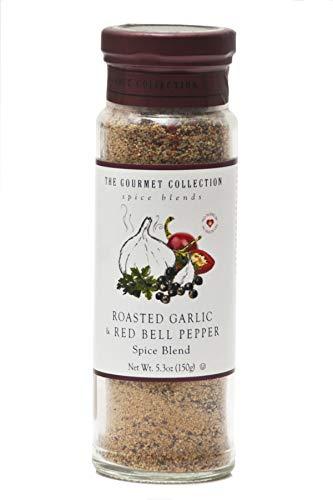 The Gourmet Collection Spice Blends - Mezcla de Especias - Ajo Asado y Pimiento Rojo