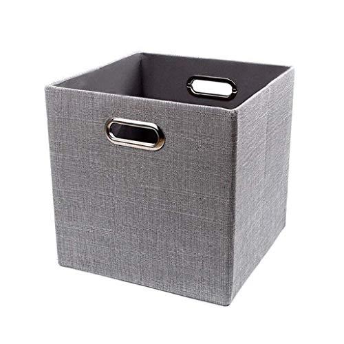 Contenitori per cestini Pieghevoli, contenitori per contenitori in Tessuto, contenitori divisori per scaffali, cassetti, armadietti, armadi - 11 Pollici