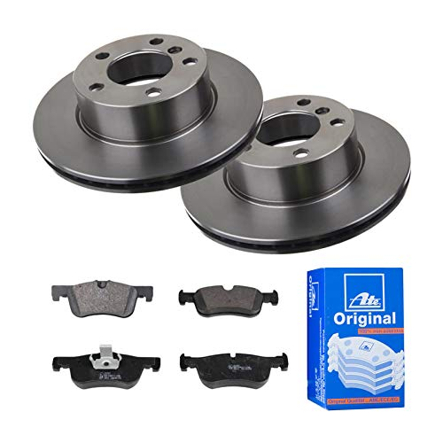 2 Bremsscheiben Ø284 Belüftet + Bremsbeläge ATE Vorne P-A-01-00221 Bremsanlage