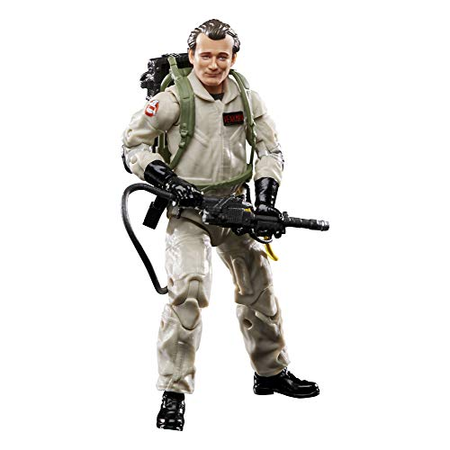 Ghostbusters Plasma Series Peter Venkman Toy 6-Inch-Scale Collectible Classic 1984 Action Figure, Toys for Kids Ages 4 and Up